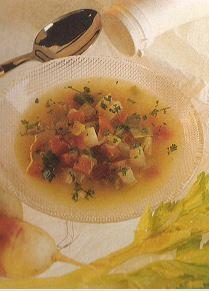 Recette cuisine fitness: potage aux 5 légumes ,une idée de potage pour l'hiver qui s'annonce.