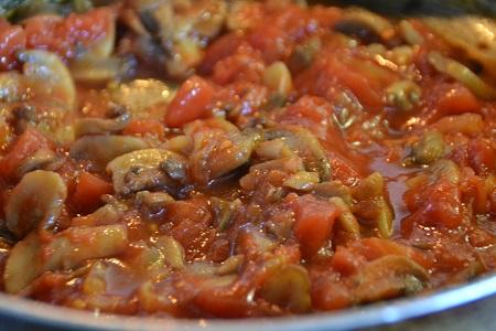 saute champignons tomates au cookeo