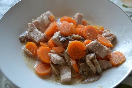 Blanquette de porc recette cookeo
