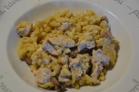 COQUILLETTES POULET express COOKEO