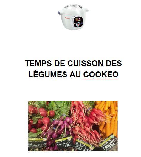 Cat gorie temps cuisson cookeo - Temps de cuisson mont d or ...