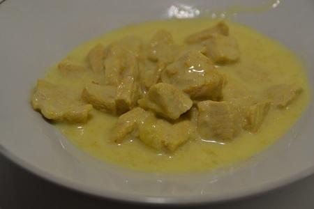 Porc curry au cookeo