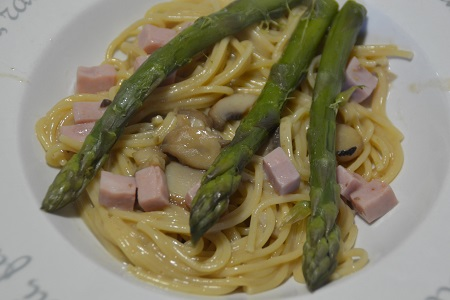 Recette weight watchers ASPERGES COOKEO