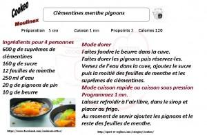 CLEMENTINES PIGNONS
