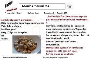 MOULES MARINIRES
