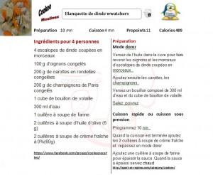 20 recettes cookeo weight watchers - Recette de noel au cookeo ...