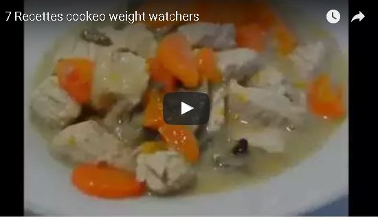 7 recettes cookeo weight watchers