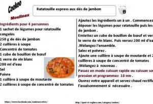 RATATOUILLE EXPRESS DES DE JAMBON