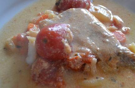 Recette cookeo filets de poisson au curry