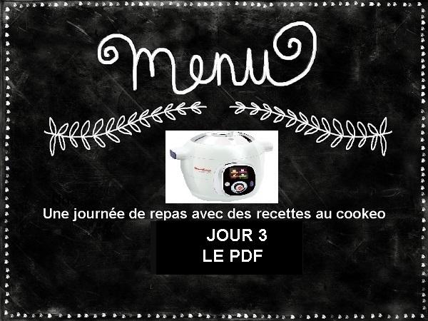 PDF menu cookeo équilibré JOUR 3