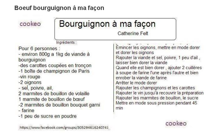 Vin pour boeuf bourguignon amazing buf bourguignon la - Quel vin pour cuisiner un boeuf bourguignon ...