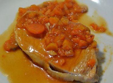 Fiche cookeo longe porc tomate
