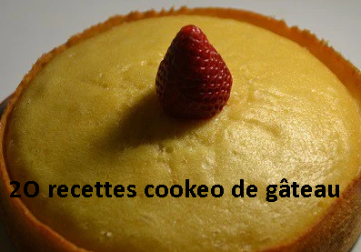 20 recettes cookeo gâteau le PDF gratuit