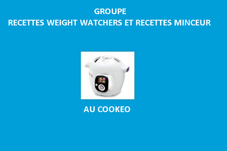 Recettes cookeo weight watchers et minceur