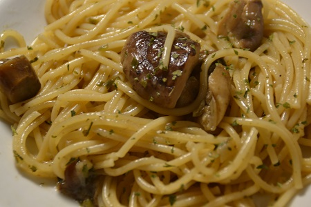 Spaghettis forestières cookeo