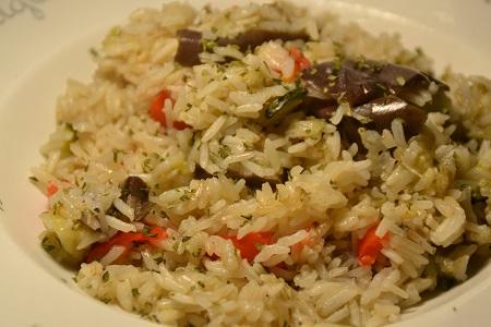 Riz 3 légumes recette cookeo
