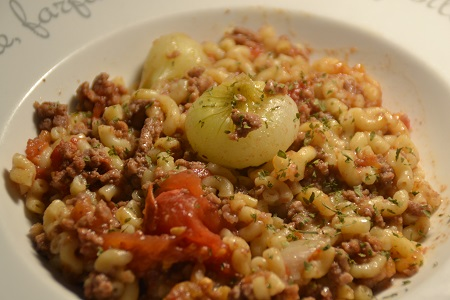 One pot pasta viande hachée cookeo