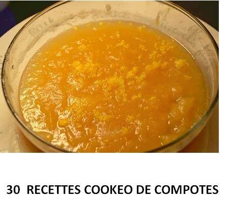 30 recettes cookeo de compotes PDF gratuit
