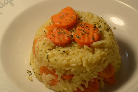 Riz carottes recette cookeo