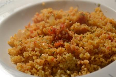 Boulgour tomates recette cookeo
