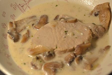 Côtes de porc au Boursin recette cookeo