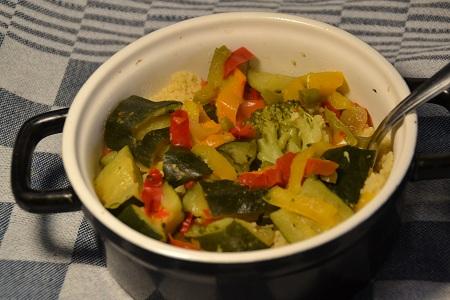 Couscous légumes recette cookeo