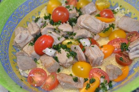 Taboulé thon recette cookeo