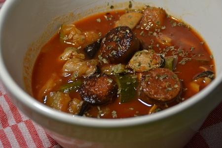 Moules chorizo tomates express cookeo