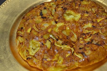 Omelette pommes de terre (fritata) recette cookeo
