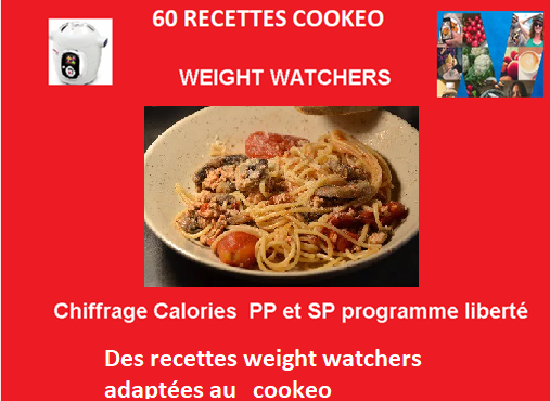 60 recettes cookeo weight watchers de JP PDF gratuit