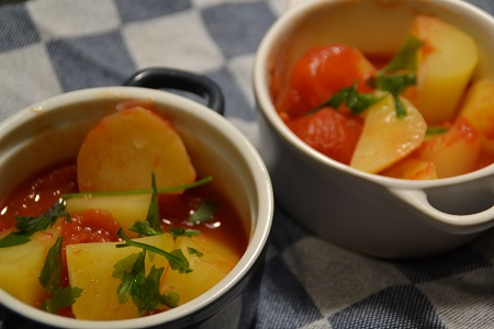 Pommes de terre tomates weight watchers cookeo