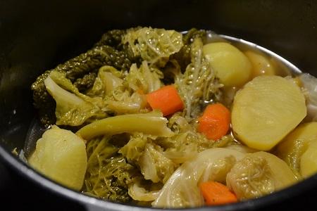 Potée de légumes au chou vert cookeo