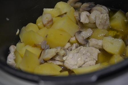 Poulet pommes de terre recette cookeo