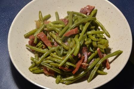 Haricots verts jambon cru recette cookeo