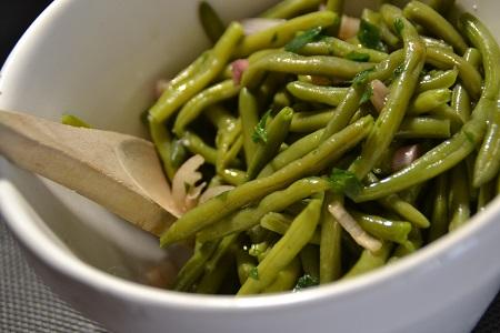 Salade haricots verts sauce soja cookeo178 CALORIES 4 PP 2 SP