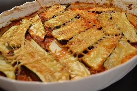 Lasagnes courgettes au boeuf cookeo