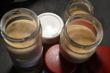 Crème dessert vanille Granola cookeo