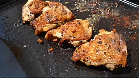 Hauts de cuisse de poulet plancha